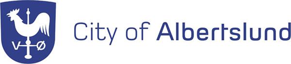 Logo of the city of Albertslunf