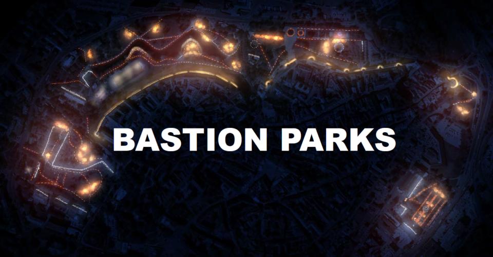 General Lighting Plan For Tallinn Bastion Parks. VALOA